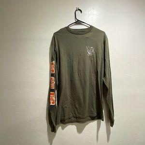 Men's HUF Long Sleeved T shirt
